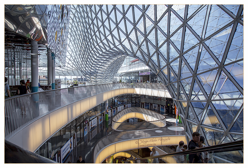 "Shoppingcenter ""MyZeil"" in Frankfurt"